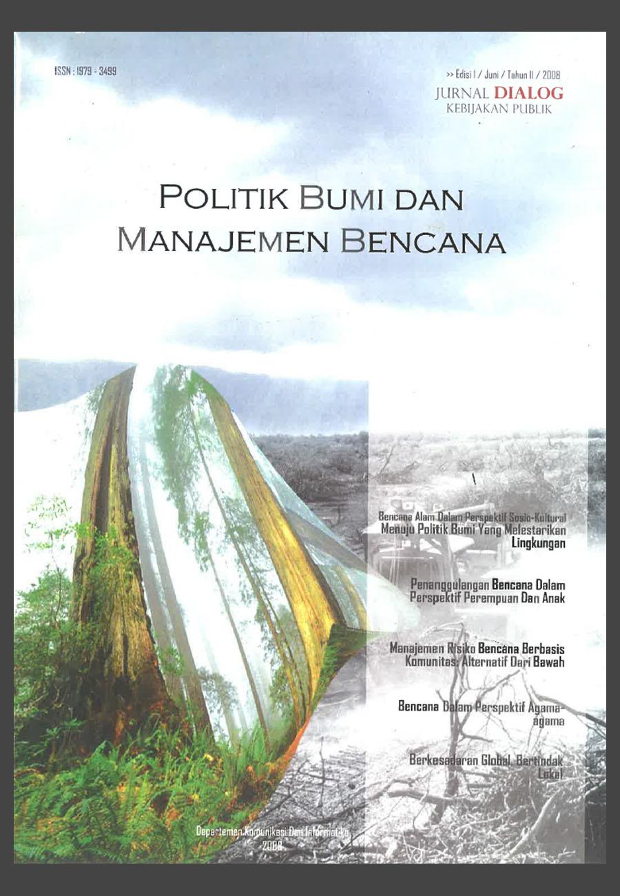 Cover,_POLITIK_BUMI_DAN_MANAJEMEN_BENCANA_Cover